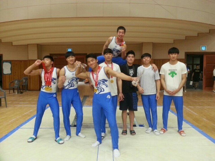 2017 전국대학·일반 체조선수권대회 단체종합 우승