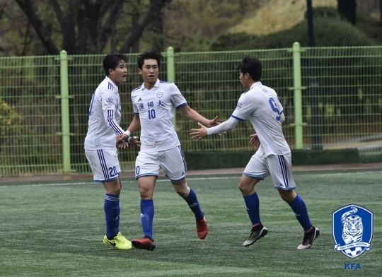 2017 U리그 한양대, 광운대와 무승부 경기